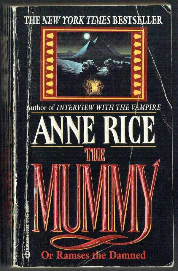 The Mummy or Ramses the Damned Anne Rice  A múmia