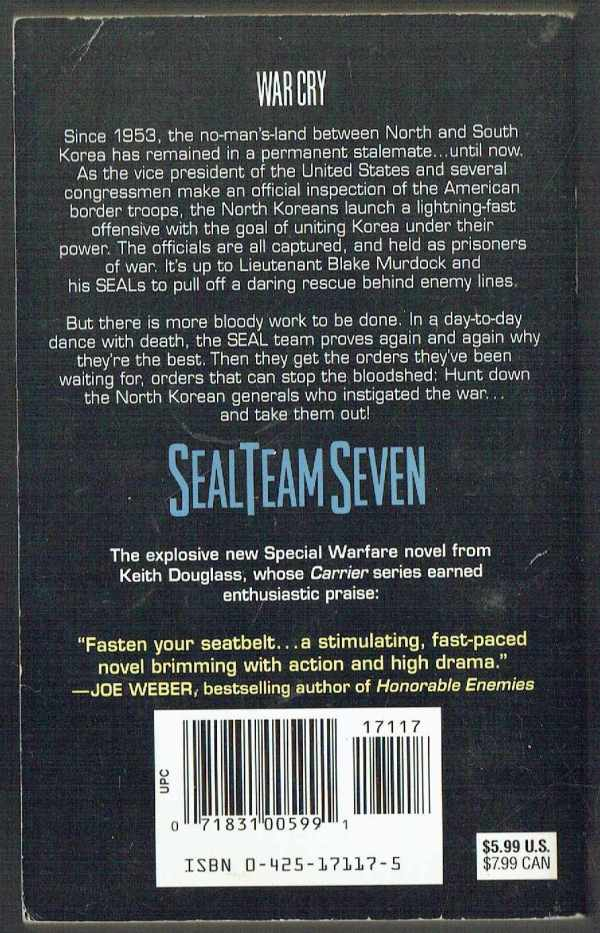 Seal Team Seven: War Cry Keith Douglas