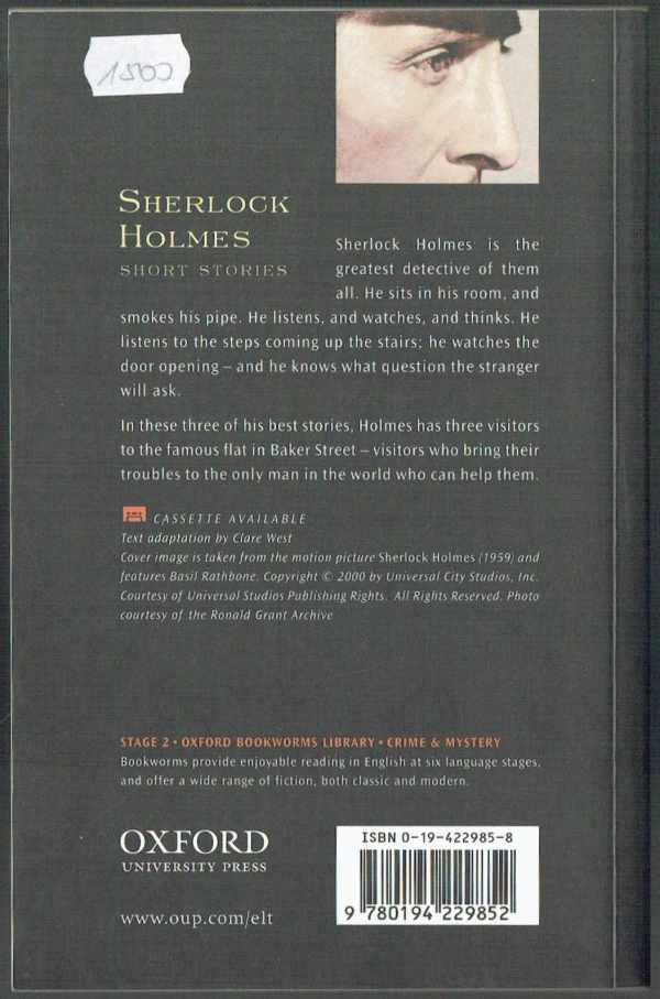 Sherlock Holmes - Short Stories - level 2 Sir Arthur Conan Doyle