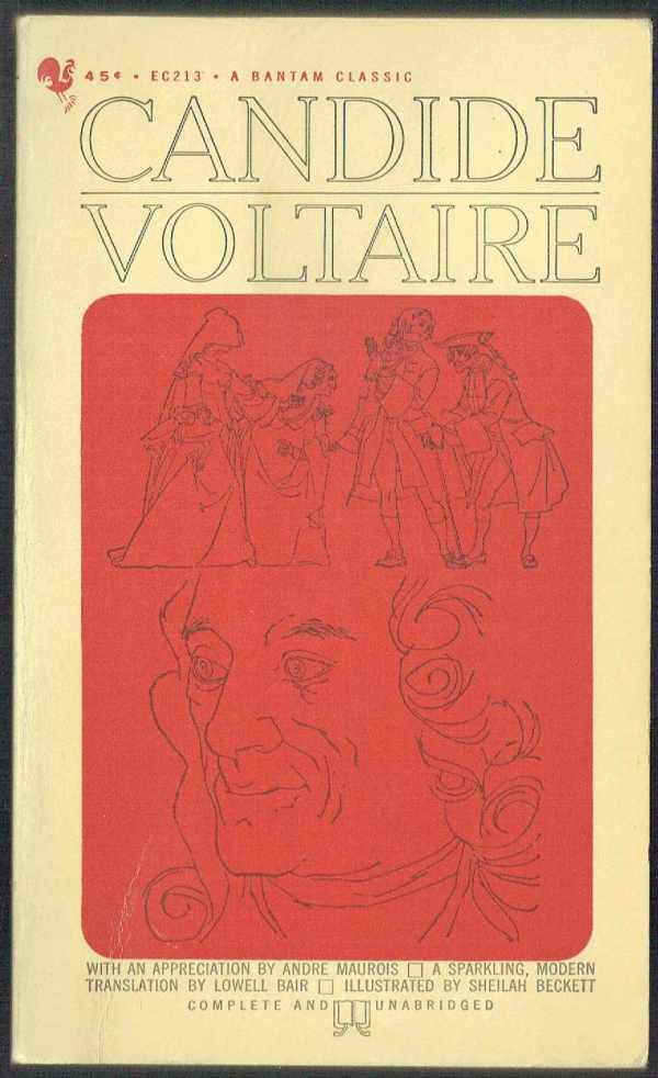 Candide - angol Voltaire