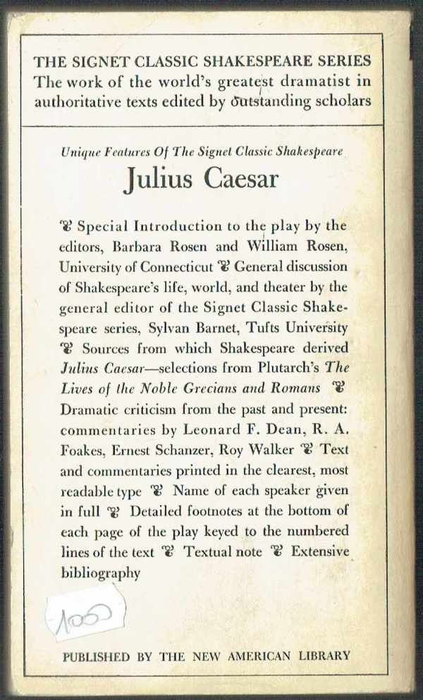 Julius Caesar - angol William Shakespeare