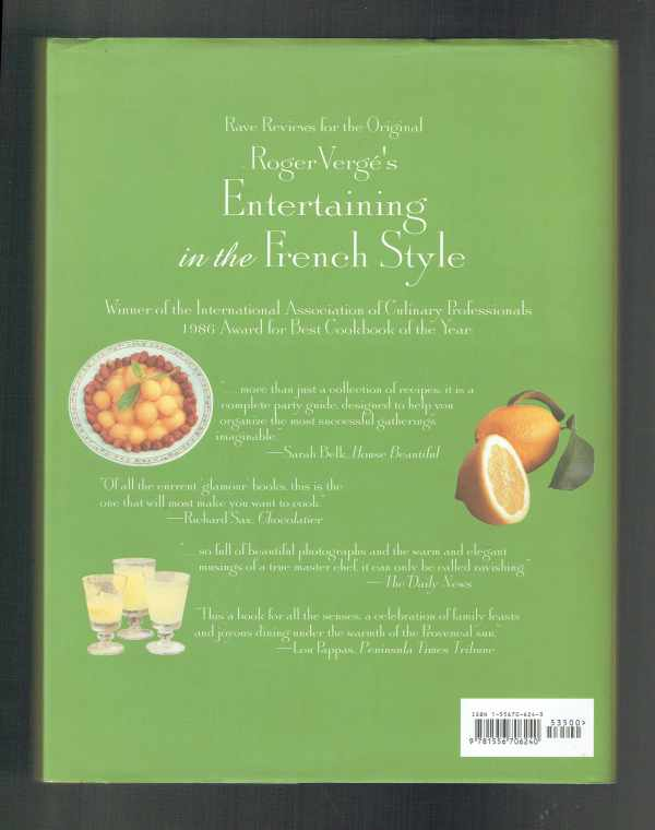Roger Vergé's New Entertaining in the French Style Roger Vergé
