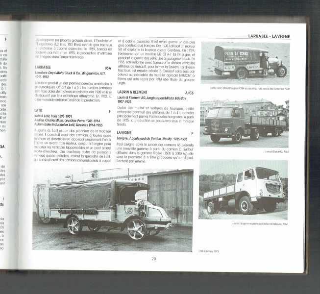Le dictionnaire des camions Halwart Schrader, Jan P. Norbye