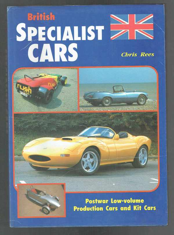 British specialist cars   Postwar Low-volume  Production Cars and Kit Cars Chris Rees  Különleges brit autók