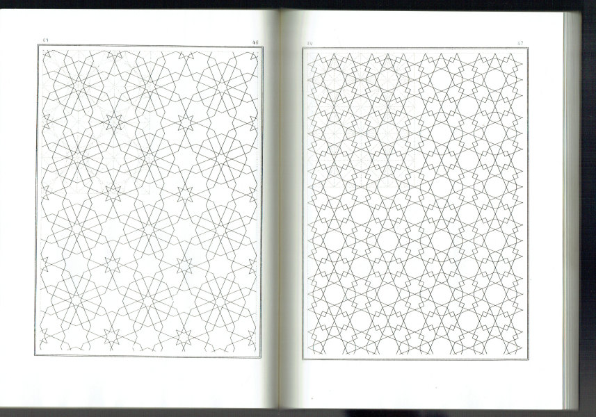 Arabic Geometrical Pattern & Design  200 Plates J. Bourgoin